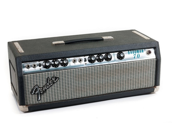Fender Bassman 70 Silverface Head