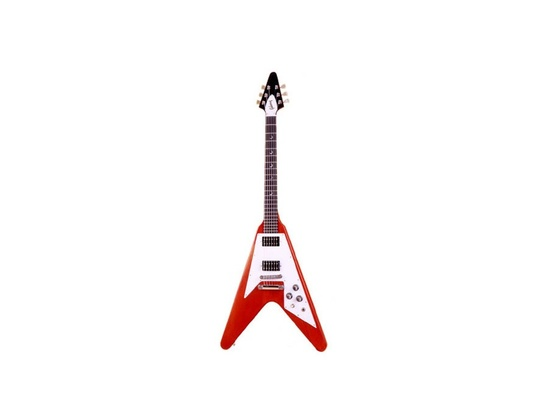 gibson flying v crescent moon
