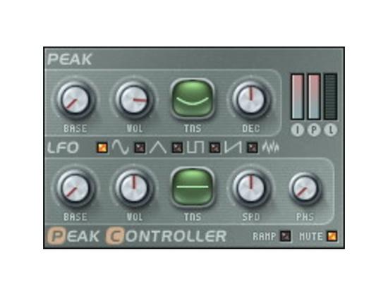 Image Line Fruity Peak Controller