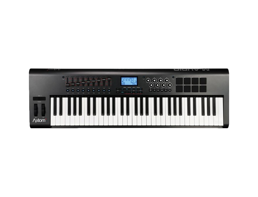 M audio axiom 61 2nd gen 61 key usb midi keyboard controller xl