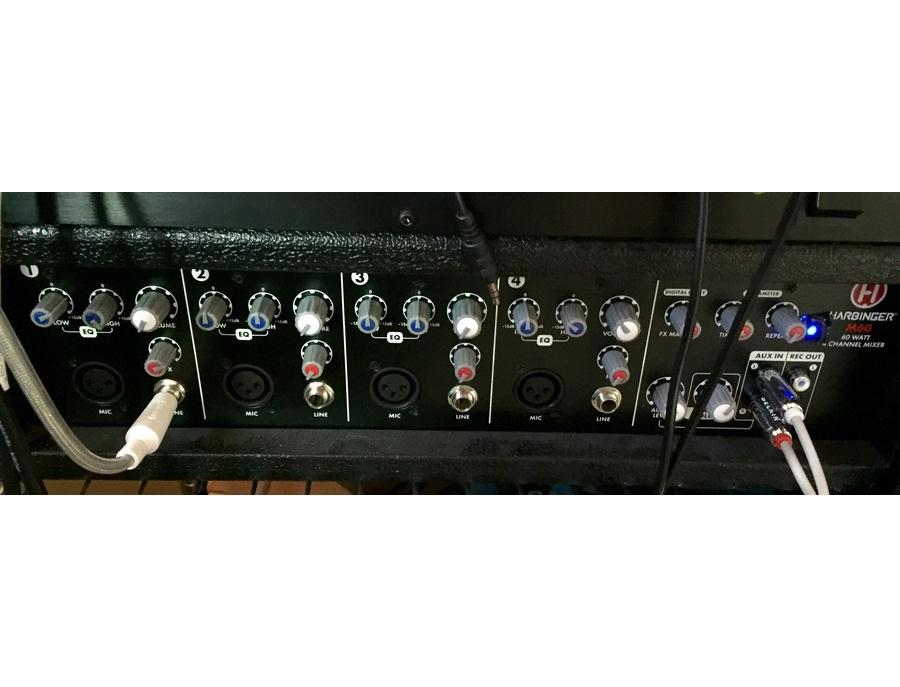 M6 0 60 >> Harbinger M60 60 Watt 1 Channel Mixer With Speakers Monitors