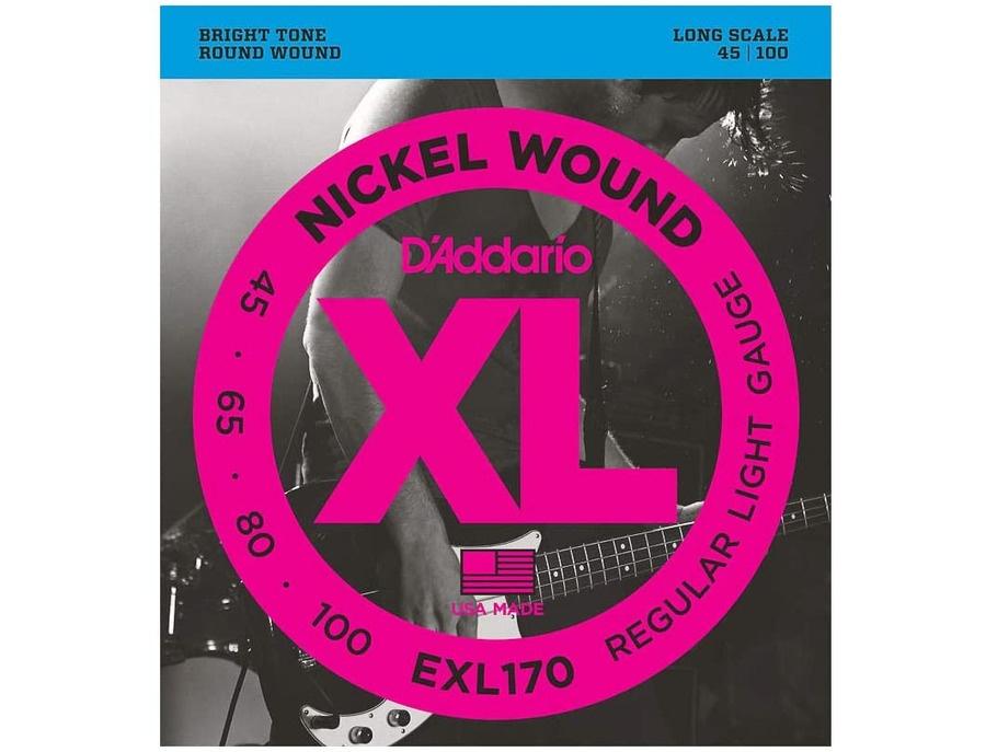 D'Addario EXL170 Nickel Round Wound Bass Strings