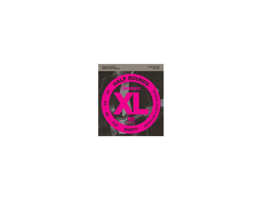 d 39 addario enr71 half round bass strings reviews prices equipboard. Black Bedroom Furniture Sets. Home Design Ideas
