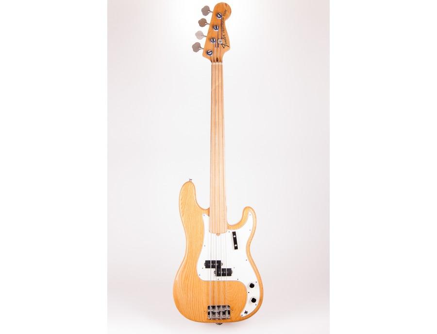 Fender precision bass fretless xl