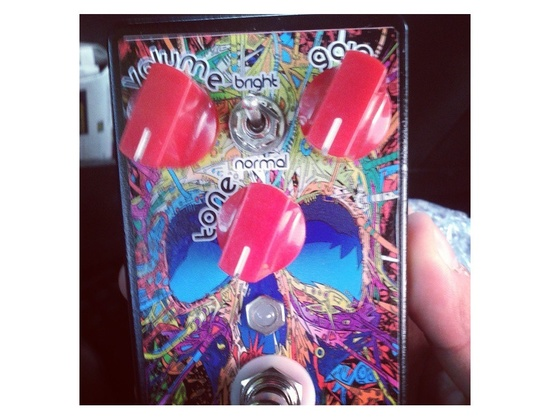 Custom bluesbreaker overdrive