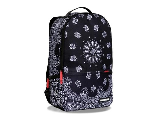 Sprayground Bandana Black Deluxe Backpack