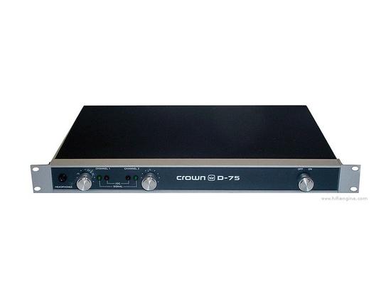 Crown D75 Power Amplifier