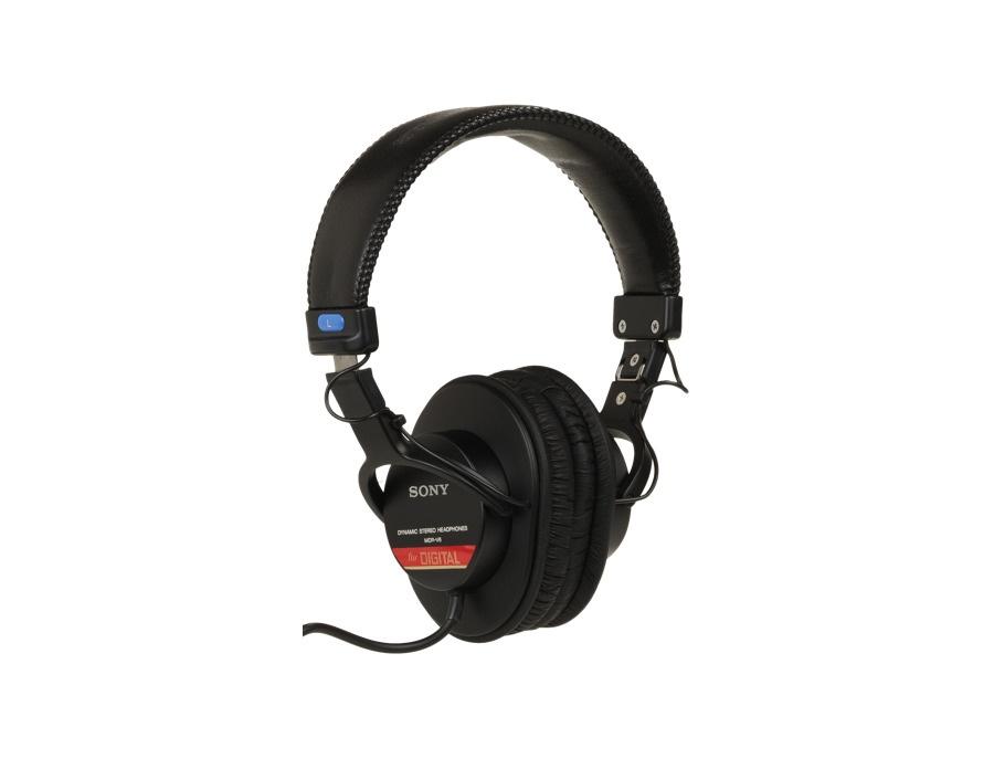 Sony mdr v6 dynamic stereo headphones xl