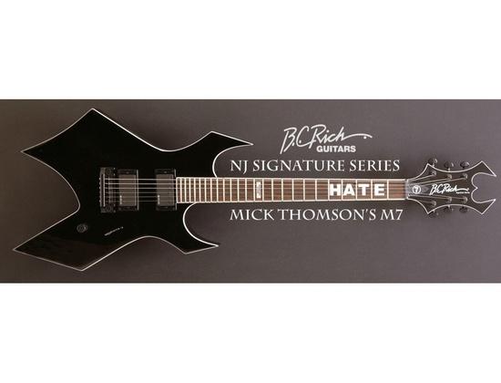 B.C. Rich Mick Thompson signature M7 Warlock