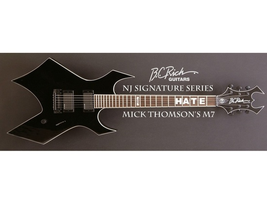 B.C. Rich Mick Thompson signature M7 Warlock