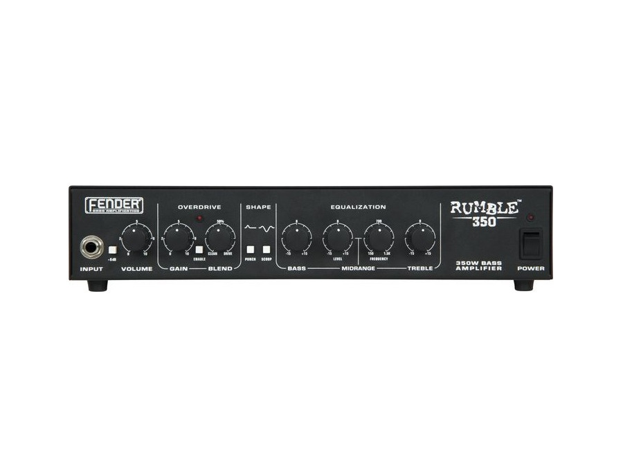 Fender Rumble 350 Bass Head V2