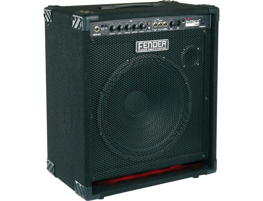 fender rumble v1 100 bass amp reviews prices equipboard. Black Bedroom Furniture Sets. Home Design Ideas
