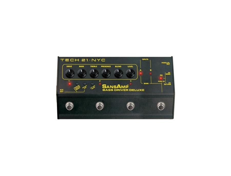 Tech 21 sansamp bass driver deluxe xl