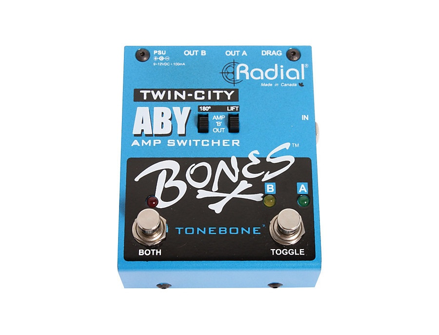 Radial twin city active aby amp switch xl