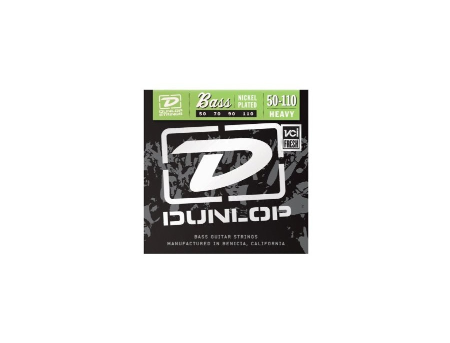 Dunlop Heavy Stainless Steel Bass Strings (50, 70, 90, 110)