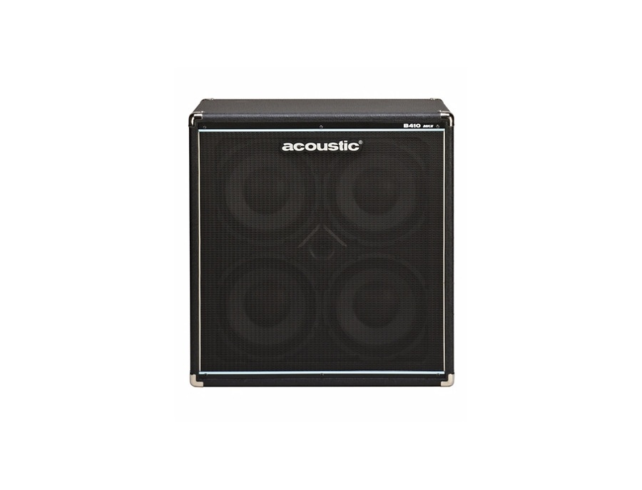 Acoustic b410 mkii bass cabinet xl