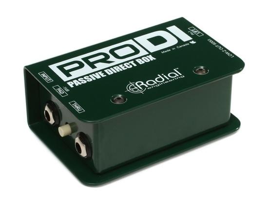 Radial Engineering ProDI Passive Direct Box
