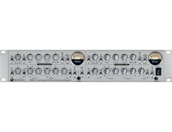 Toft Audio ATC-2 two channel Mic Pre/Compressor/Equalizer