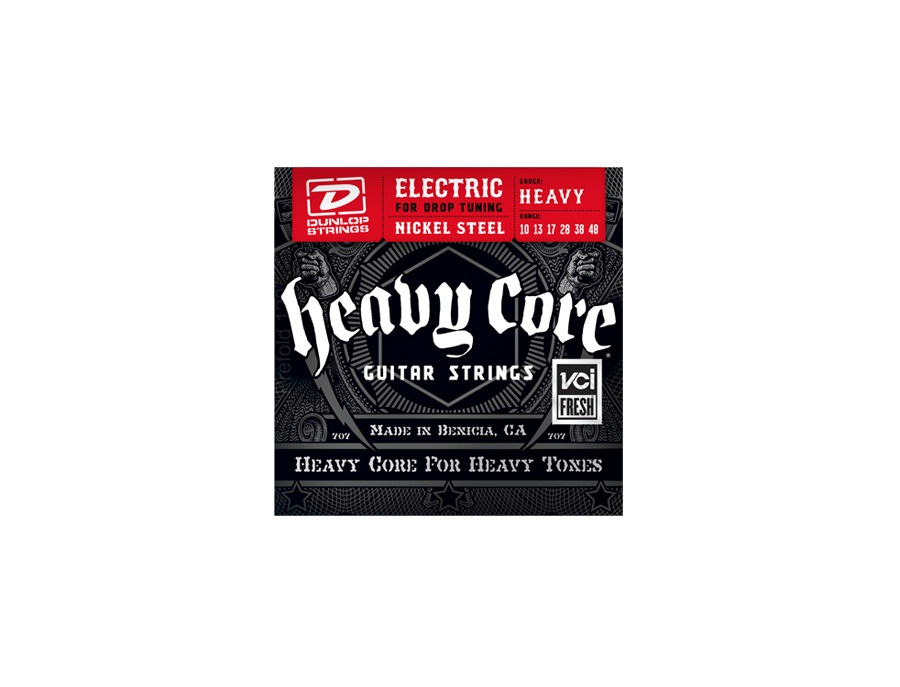 Dunlop heavy core guitar strings xl