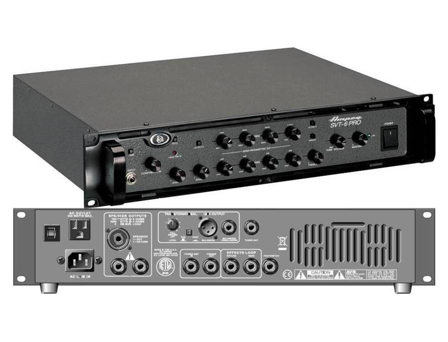 Ampeg SVT-6 Pro Bass Head
