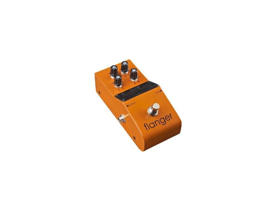 Fender starcaster flanger guitar effects pedal xl