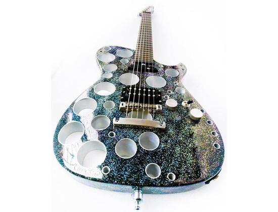 Manson Silver Glitter Holes