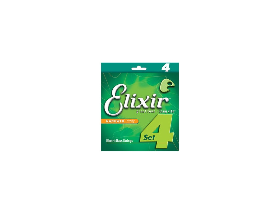 Elixir® Nickel Plated Steel Bass Strings 14002