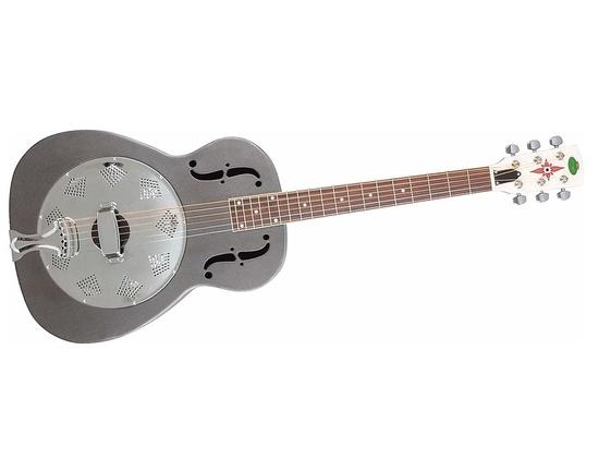 Regal RC-1-N Metal Body Duolian Guitar - Nickel-Plated Steel