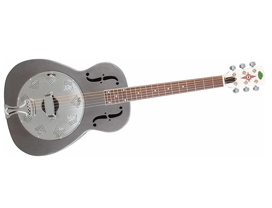 Regal rc 1 n metal body duolian guitar nickel plated steel xl