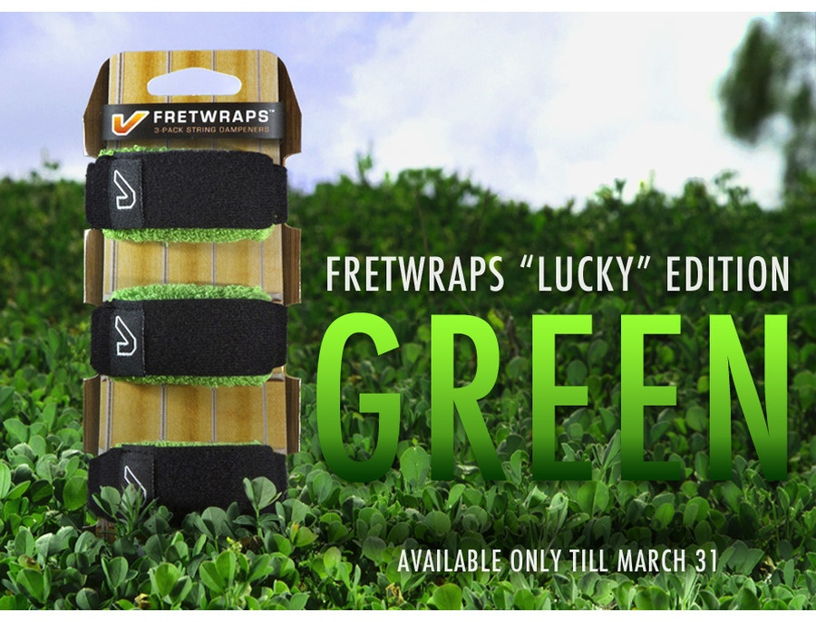 Gruv gear fretwrap lucky edition xl