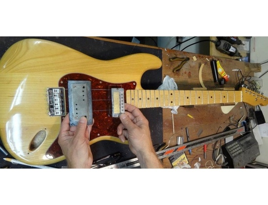 Mike Cornwall Built Custom Coodercaster Electric Guitar
