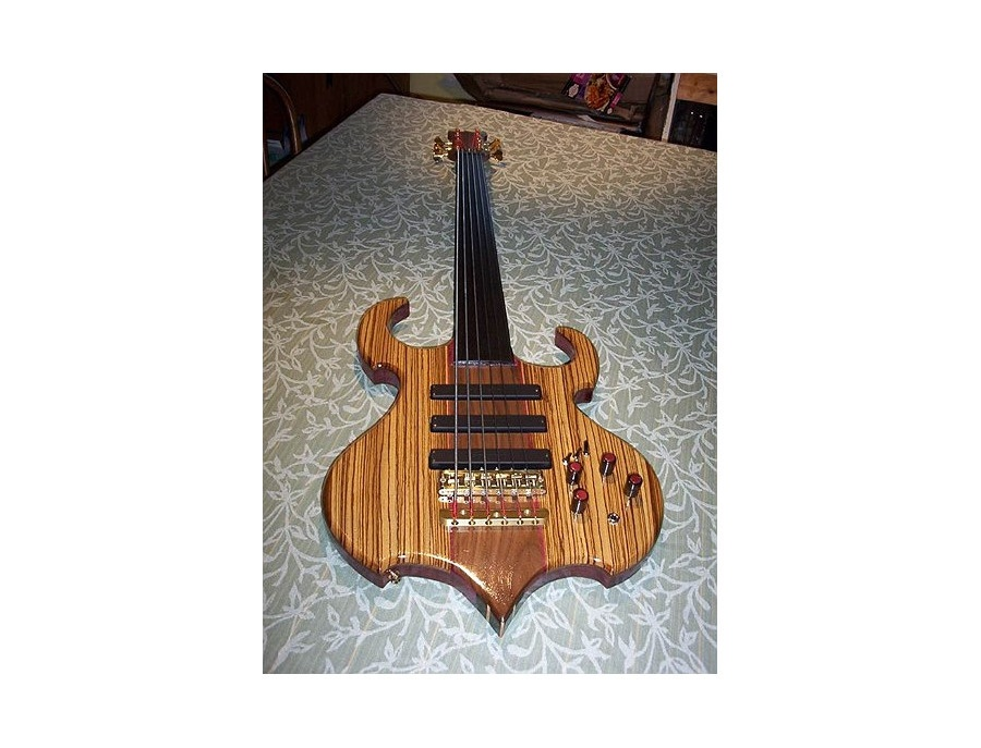 Thor Bass Mjolnir 6 string fretless