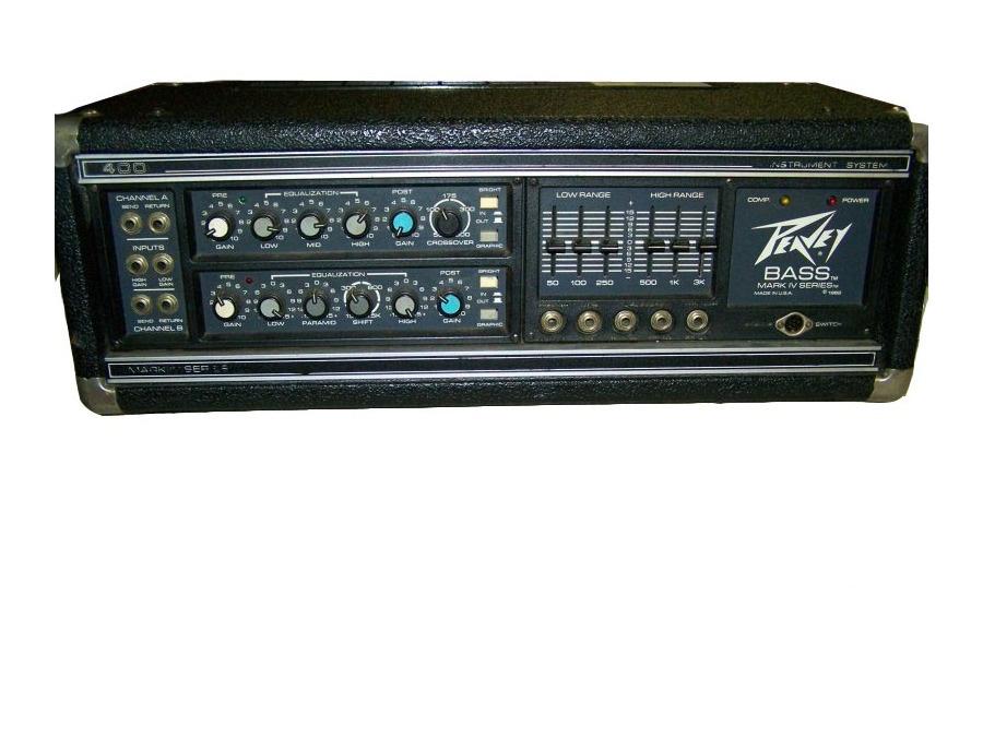 Peavey mark iv series 400 bass amp xl