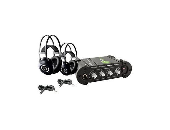 AKG M90 MkII Headphone Amp package
