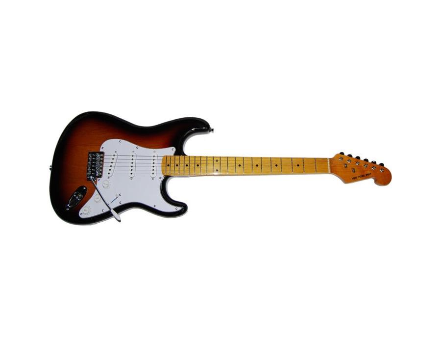 New York Pro strat-style guitar