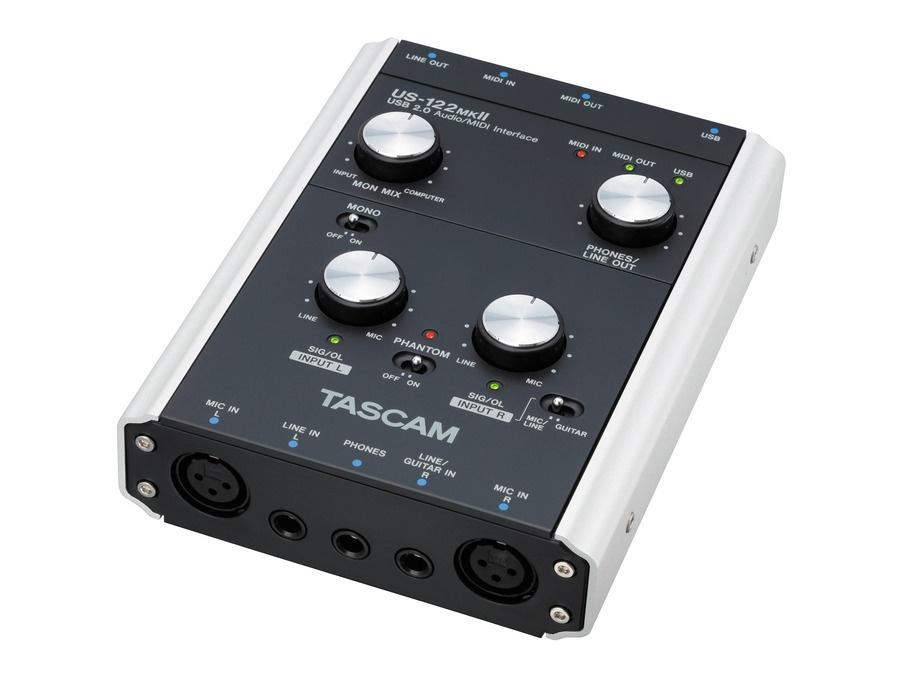 Tascam us 122 mkii usb audio interface xl