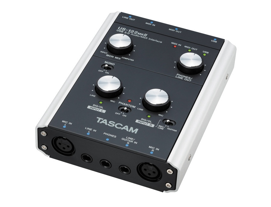 Tascam US-122 mkII USB Audio Interface