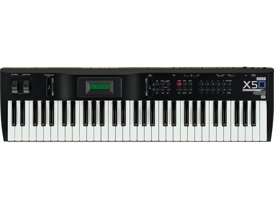 Korg x5d 61 key synthesizer xl