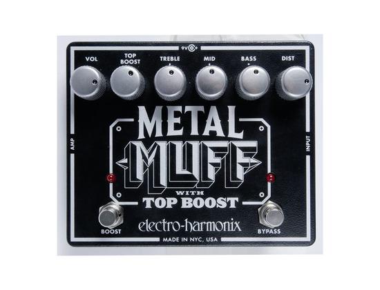 Electro-Hamonix Metal Muff with Top Boost