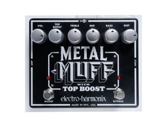 Electro hamonix metal muff with top boost s