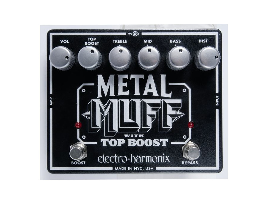 Electro-Hamonix Metal Muff with Top Boost