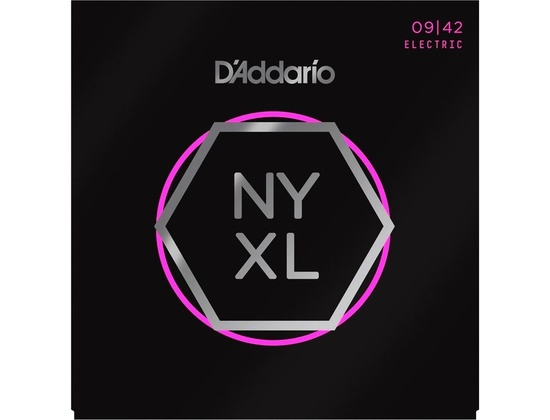 D'Addario NYXL0942 Super Light 09-42 Electric Guitar Strings