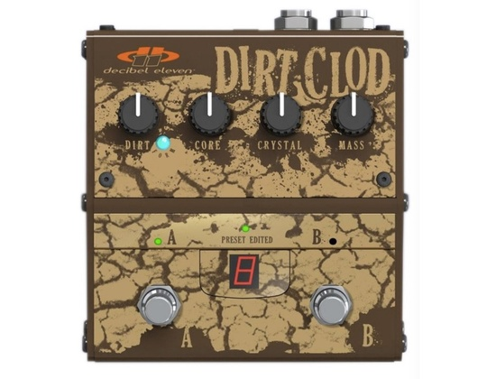 Decibel Eleven Dirt Clod Analogue Distortion Pedal