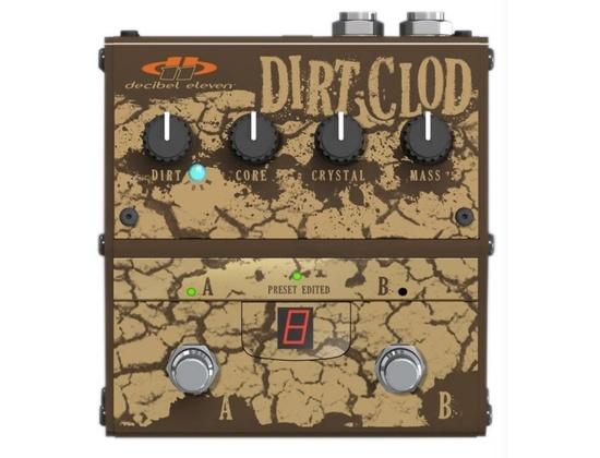 Decibel Eleven Dirt Clod Analogue Distortion Pedal