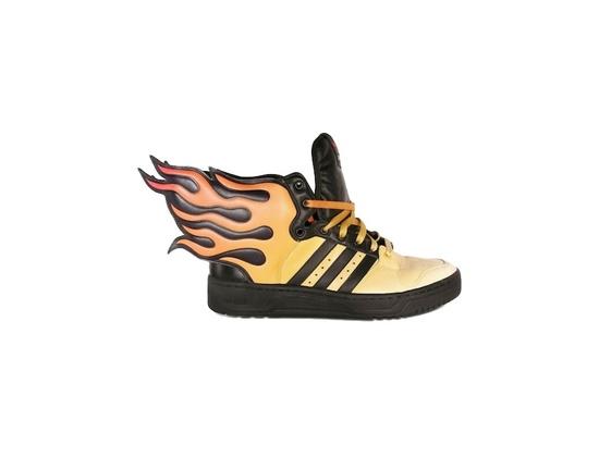 Jeremy Scott x Adidas Originals JS Flames Wing Sneakers
