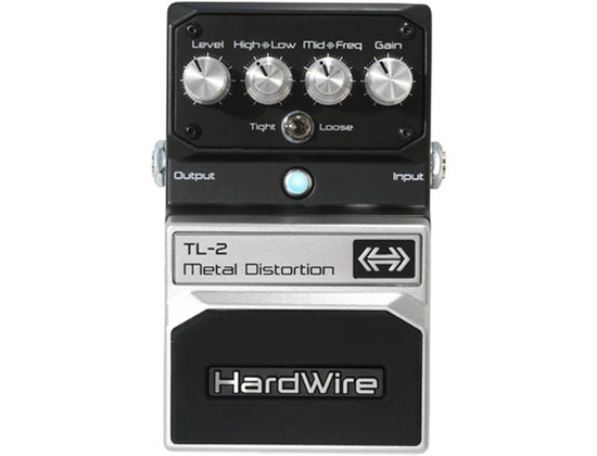 DigiTech Hardwire TL-2 Metal Distortion