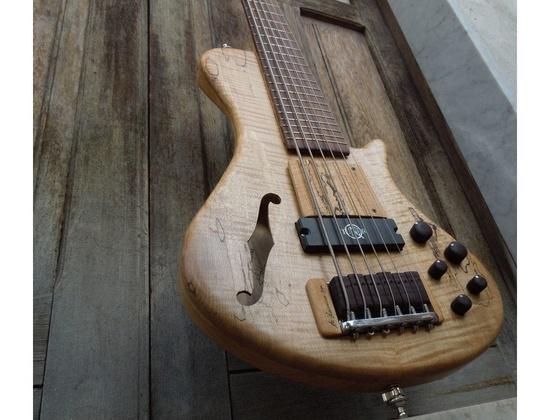 cavus power zen belcanto 6 string bass with neodymium q tuner q2 0 pickup luthier pasquale. Black Bedroom Furniture Sets. Home Design Ideas