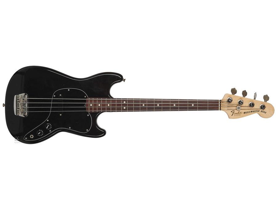 Fender musicmaster bass xl