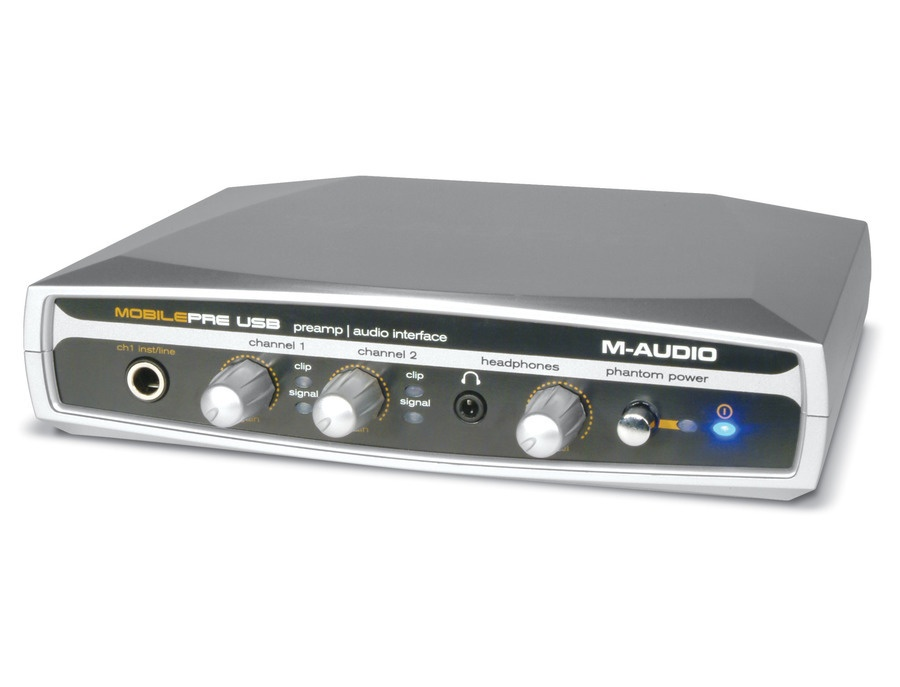 M-Audio MobilePre USB Interface with Microphone Preamp