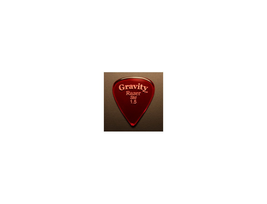 Gravity Razer STD 1.5 Guitar Picks